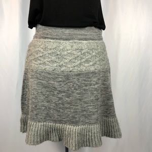 DAKINI Wool Blend Knit Skirt